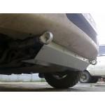 Защита радиатора к бамперу 13012 на L200 Triton (3мм)