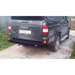 Задний силовой бампер на УАЗ Пикап OJ 03.064