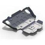 Защита картера и радиатора алюминий 6 мм Toyota Hilux 2007-2014 2.5D, 3.0D