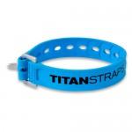 Ремень крепёжный TitanStraps Super Straps голубой L = 36 см (Dmax = 9,5 см, Dmin = 3,2 см)