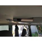 Консоль потолочная для установки р/c УАЗ Патриот 2019, без выреза под р/с, с карманом, серая
