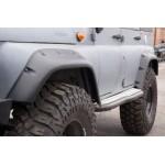 Расширители колёсных арок УАЗ Хантер (передние 105 мм, задние 95 мм)