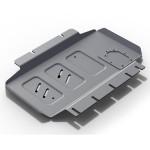 Защита картера Nissan Pathfinder, Navara,  V - 2.5D, 3.0D, 4.0 (2005-2015)