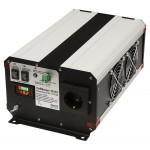 Инвертор (преобразователь напряжения) СибВольт 1512У  DC/AC, 12В/220В, 1500Вт