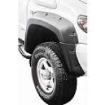 Расширители колёсных арок УАЗ Патриот (с накладками на передний бампера) дорестайлинг